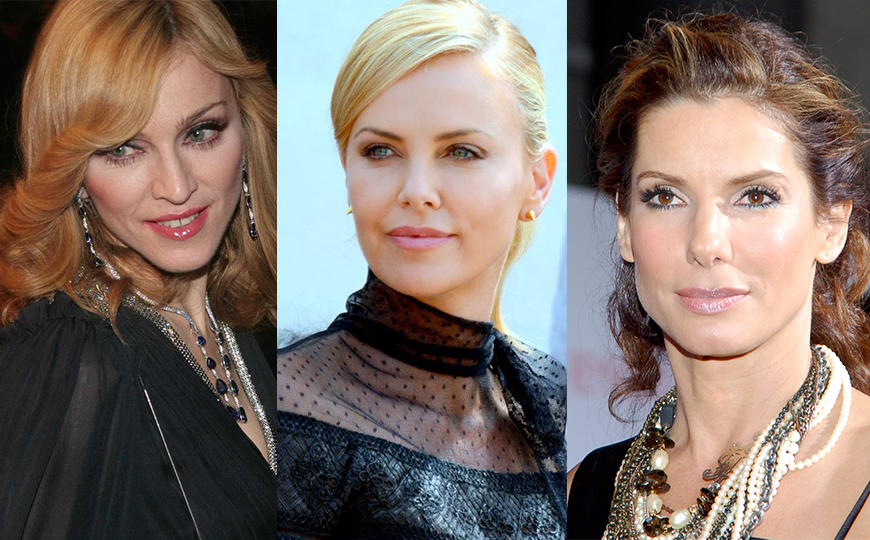What Do Madonna Charlize Theron And Sandra Bullock Have In Common