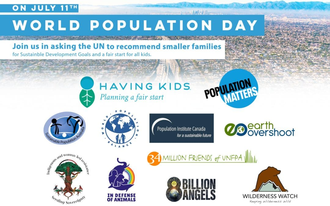 Organizations Joining for World Population Day at the U.N.