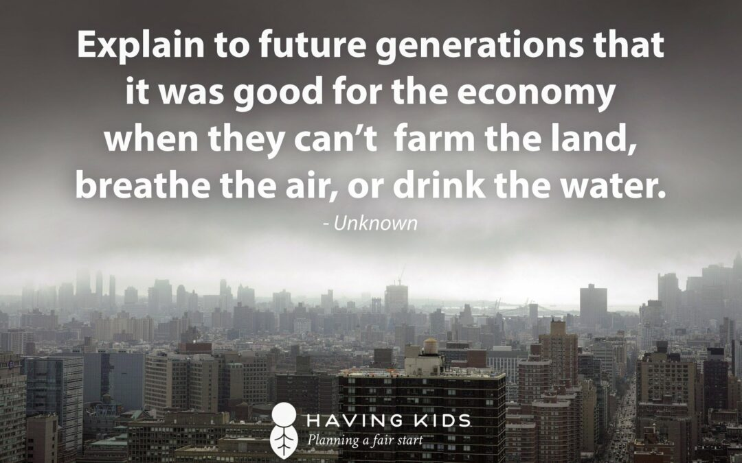 Justice Without a Fair Start in Life? Don't Fall for It. Help us Target Companies Greenwashing and Hurting Our Kids.